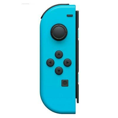 Original OEM Nintendo Switch Joy Con Controller LEFT Side Neon Blue WORKING