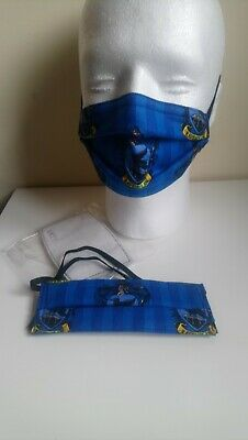 2x Kids Harry Potter Ravenclaw face masks with pm2.5 filters