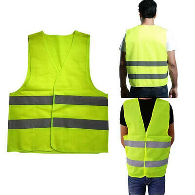 Ey_ Safety Security Visibility Reflective Vest Construction Traffic Wareho Faddi