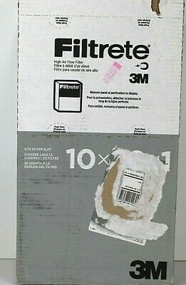 Filtrete-Basic 3M Air-Filter Replacement 6-Pk (10 x 20 x 1) Pad Furnace Dust Lot