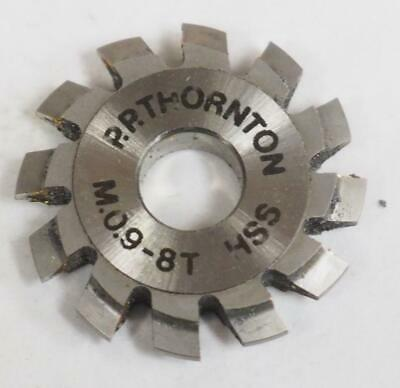 P P Thornton M.0.9-8T Cutter Wheel Cutter For Clock Making Horology Parts