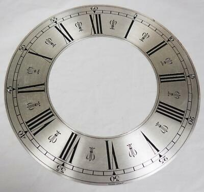 Clock Chaptering With Engraved Roman Numerals Brass Clock Dial 24cm In Diameter