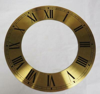 Clock Chaptering With Roman Numerals Brass Clock Dial 15cm In Diameter