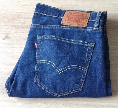 Levis 510 Jeans Skinny Fit Stretch Size 36 X 30 Red Tab Vgc See Description