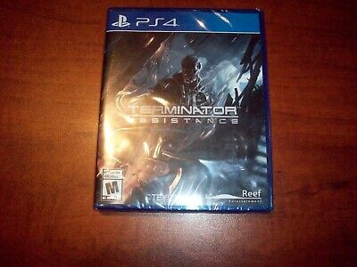 Terminator Resistance (Sony PlayStation 4 PS4) Factory Sealed! ---US version