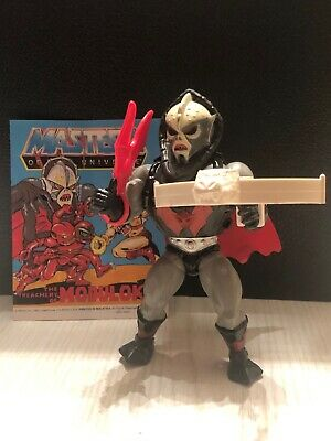 Hordak Action Figure W/ Original Comic Book Mexico