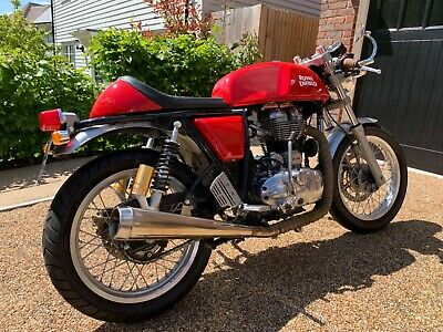2016 Royal Enfield Continental GT 535 Cafe Racer Low miles