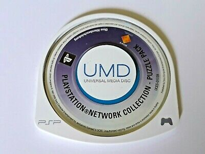 Psp - Sony - Umd - Playstation Collection Puzzle Pack - Uces-01159