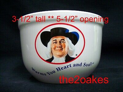 Quaker Oats Bowl Vintage 1999 Houston Harvest Warms You Heart And Soul Cereal