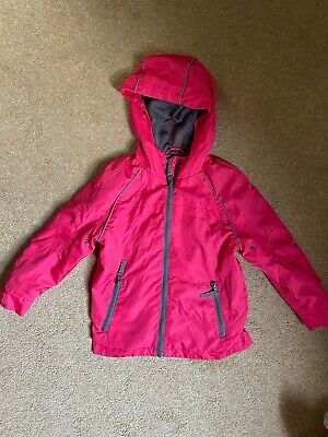 George Girls Pink Lightweight Jacket - Size 4-5 Years