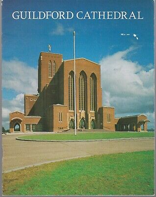 Guildford Cathedral, Surrey; Pitkin Guide 1980 1st ed 24 pgs; photos, VG