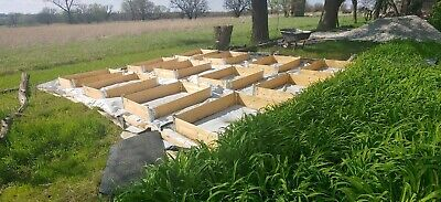 Stackable, Collapsible, Raised Garden Bed / Pallet Collars