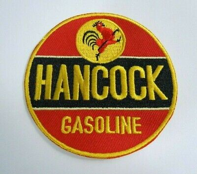 HANCOCK GASOLINE -  Embroidered Sew On Uniform-Jacket Patch 3""