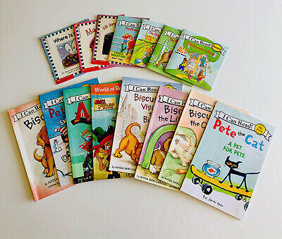 Lot Of 15 My First Reading And I Can Read Phonics Books Mix Berenstain Bears