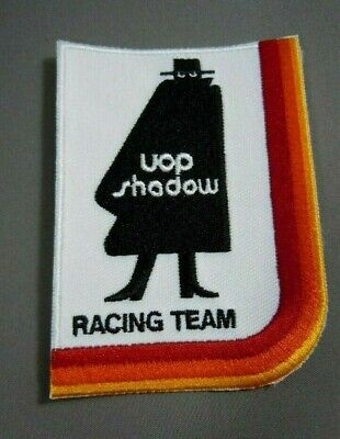 "SHADOW Racing Iron-On Embroidered Patch 3.75 x  2.75"" UOP- CAN-AM - F1"