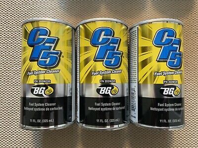 (3) Cans Bg Cf5 203 Fuel System Cleaner