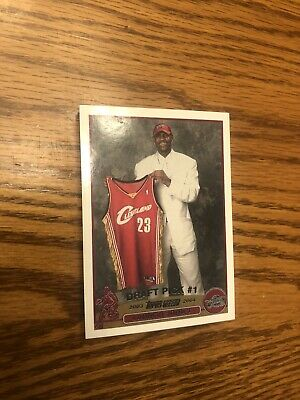 2003 LEBRON JAMES 2003 Read Description Topps1 Draft Pick Rookie Card RC Reprint