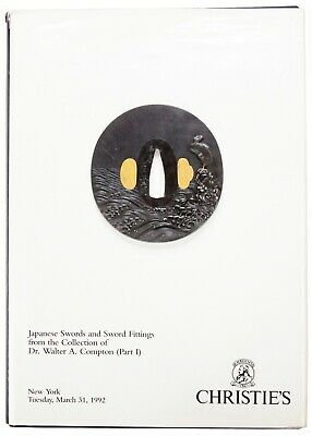 Japanese Tsuba Reference Book Christie's Walter Compton Collection Part 1 1992