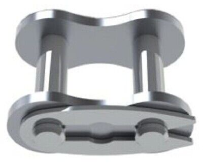 Sedis ALPHA ROLLER CHAIN LINKS 5Pcs Type 06B-1, Spring Clip, Stainless Steel