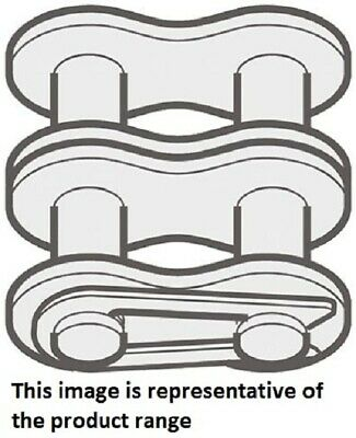 Renold OFFSET ROLLER CHAIN LINKS 5Pcs Spring Clip, Steel- 06B-2 Or 12B-2