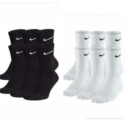 Nike Everyday Cotton Cushioned Socks DRI- FIT Technology 1, 3, or 6 Pairs