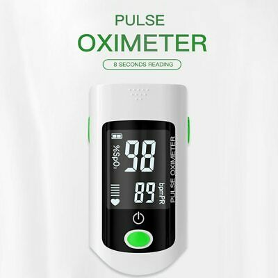 Blood Oxygen Finger Pulse Digital Fingertip Oximeter Oxygen Saturation Meter