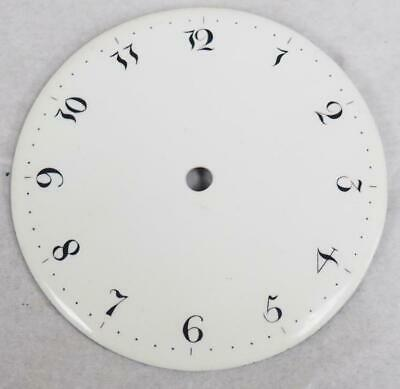 Antique French Enamelled Mantel clock Dial Mantel Clock Spare Arabic Numbers 7cm