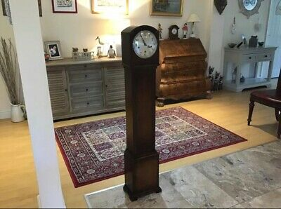1920's Oak Cased Grandmother Clock