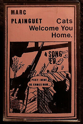 MARC PLAINGUET Welcome You Home Demo Cassette Electronic Minimal Synth Wave