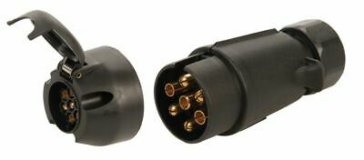 12 Volt 7 Pin N-Type AND S-Type Trailer Sockets - Caravan Towing Tow Car