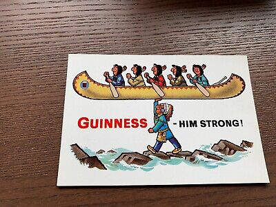 Old Postcard My Goodness My Guinness