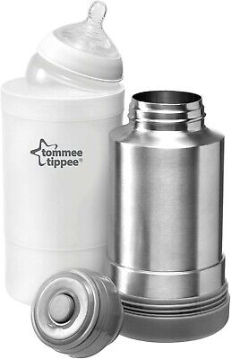 Tommee Tippee Travel Food Warmer Travel Hot Water Flask Baby Milk Warmer NEW