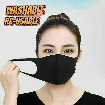 Designer Fashion Face Mask Breathable Washable Mouth Protection Adult Reusable