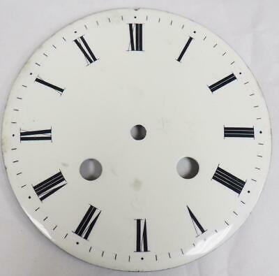 Antique French Enamelled Mantel clock Dial Clock Spare Striking Clock Dial 10.5c