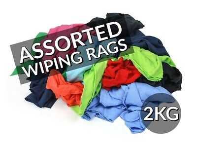 2Kg Of Assorted Rags/ Cloths/ Wipers