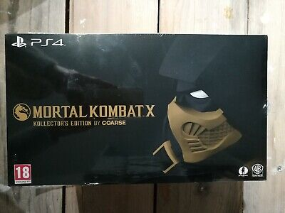 """Mortal kombat X Edition Collector """"COARSE"""" PS4 NEUF sous blister"""
