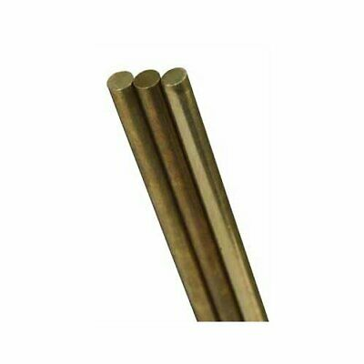 K & S Engineering 8162 Solid Brass Rod 1/16 X 12In 3 Pack
