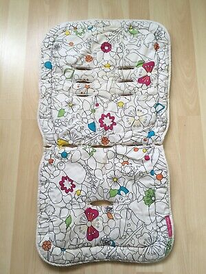 Buggy Liner Pram Pushchair Stroller Liner Seat Cover from Mamas & Papas