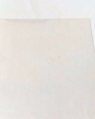 "25 SHEETS POLYESTER CLEAR PLASTIC MELINEX 5/"" x 8/"" x .010/"" PAPER CRAFTS ART"