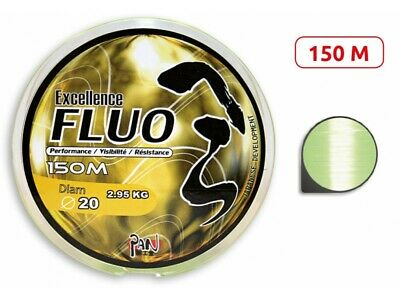 Nylon Pan Excellence Fluo 150m - Neuf