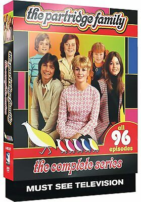 Partridge Family [The Complete Series] (DVD, 2015, 8-Discs, Full Frame) *NEW*
