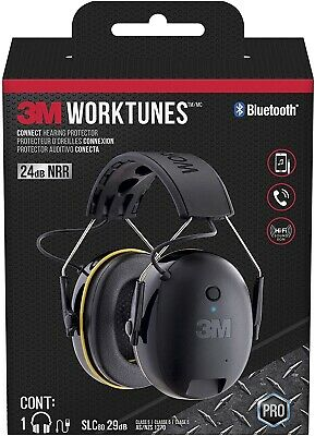 Worktunes Call Connect Wireless Hearing Protector Earmuff Bluetooth