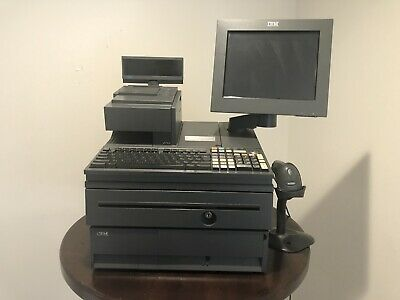 IBM 4800-782 Full Setup Cash Register System