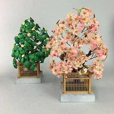 Japanese Hina Doll Tachibana Trees Cherry Blossom Ornaments Decoration ID256
