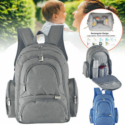 Large Waterproof Baby Diaper Bag Mummy Maternity Laptop/Travel/Stroller Backpack
