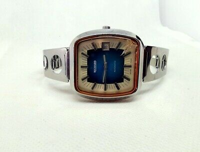 Montre Watch Richard Longines Swiss Made Automatic Tv Morge Suisse Vintage 72