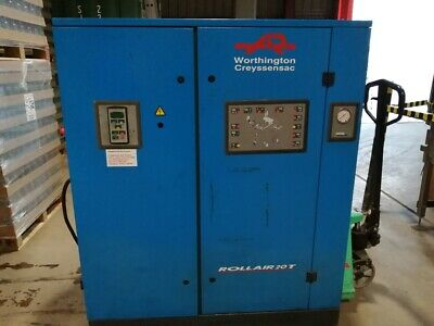 Worthington Creyssensac Rollair 20 95 Cfm Compressor