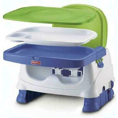Fisher-Price Healthy Booster & HookOn Seats Care Seat, Blue/Green Exclusive Baby