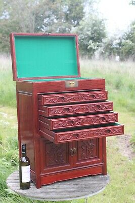 Chinese style Rosewood collectors drawers,collectors Medals drawers,coin drawers