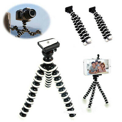 Portable Universal Flexible Mini Octopus Tripod Stand For Camera Cell bara AU@